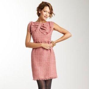 Gracia | Pink Tweed Dress